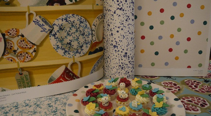 emma bridgewater behang en stoffen via sanderson via luxury by nature
